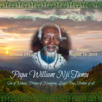William Nji Tamu's Online Memorial Photo